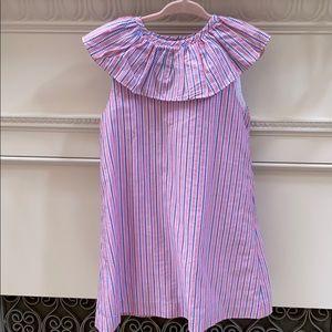 Bella Bliss ruffle collared dress- pristine